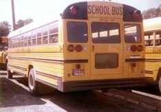 Old School Bus, School Buses, International School, Busses, Archer, Hunters, September, Yellow, Sterling Archer
