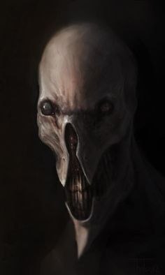 Demon Head by RamenRamen but can kinda be slender mans eviler looking twin brother don't u think?