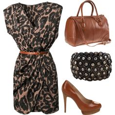 Leopard. by christinamarie0824 on Polyvore