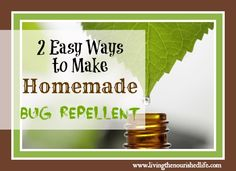 20+ All-Natural Insect Repellent Recipes for a Bug-Free Summer | The Prairie Homestead