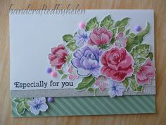 Another floral layered stamp card