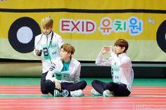 Jimin, Suga and Jungkook❤ ISAC 2016 #BTS #방탄소년단