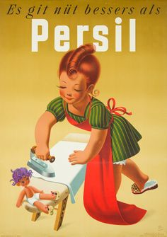 Vintage Persil Advertising Poster Source by petrameszarosov The post Vintage Persil Advertising Poster appeared first on Alba's Soap Works. Vintage Advertising Posters, Old Advertisements, Vintage Posters, Advertising Signs, Pub Vintage, Vintage Labels, Vintage Packaging, Vintage Travel, Retro Poster