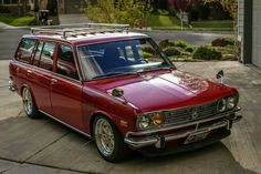 Classic Car News Pics And Videos From Around The World Classic Japanese Cars, Japanese Sports Cars, Classic Cars, Datsun 1600, Datsun Car, Retro Cars, Vintage Cars, Nissan Sunny, Japan Cars