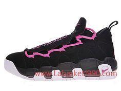 hot sale online 39a81 a92b3 Nike Air More Money QS AJ7383-001 Chaussures de BasketBall Pas Cher Pour Homme  Noir