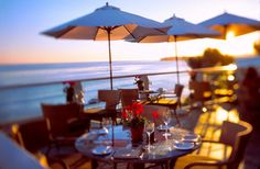 Geoffrey's in Malibu- great restaurant, great food, unbelievable view of the Pacific Ocean!