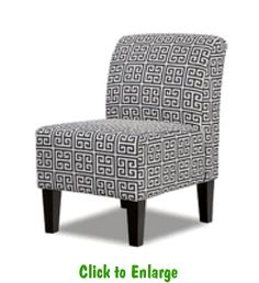 Towers Onyx Armless Chair At Furniture Warehouse | The $399 Sofa Store |  Nashville, TN