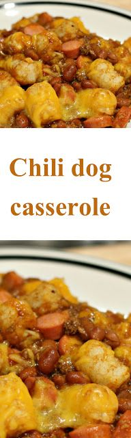 BEST CHILI DOG CASSEROLE RECIPE EVER