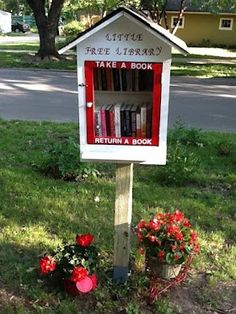 Little Free Library. Let's set these up in every neighbourhood!