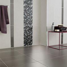 carrelage murs wall street pour salle de bains les design lapeyre - Verriere Salle De Bain Lapeyre