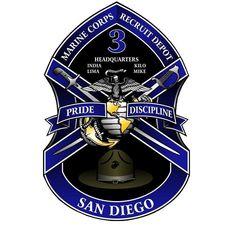 Marine Corps Recruit Depot, San Diego > Units > Subordinate Units > Recruit Training Regiment