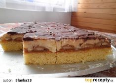 Neodolatelný piškot recept - TopRecepty.cz Fondant Tutorial, Fondant Cakes, Desert Recipes, Vanilla Cake, Tiramisu, Sweets, Dishes, Baking, Ethnic Recipes