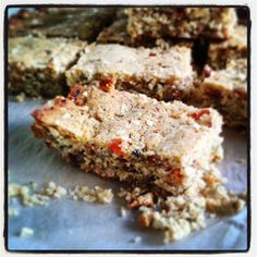 Coconut and Ground Almond Slice - grain free, gluten free – The Big Lunchbox Revolution