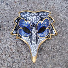 This achieves the ~look~ of a Venetian mask but is durable enough to wear…
