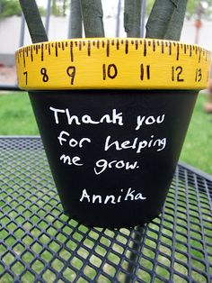 Controlling My Chaos: Teacher Appreciation Flower Pot
