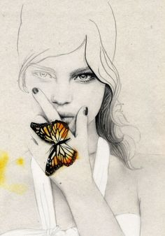 butterfly by ophelia