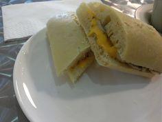 Knockbox Coffee Company @ Mongkok # Mushroom & Cheese Soft Bread