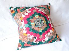hexagon throw pillow I by evamariesutter, via Flickr
