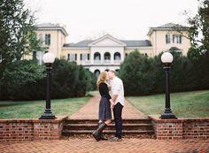 Lynchburg Engagement Session: Engagement pics shot at Sweet Briar College!!! eeekkkkkk my beautiful college!!