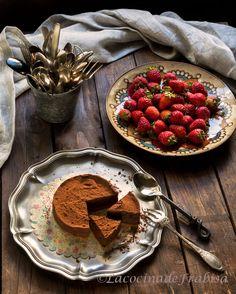 La cocina de Frabisa: Tarta de puro chocolate SIN HORNO. Fácil y rápida.