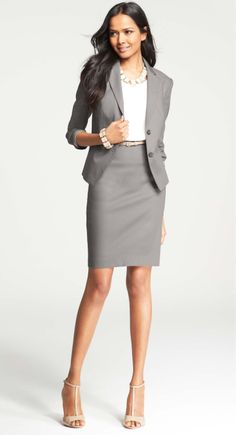 Ann Taylor Suit -- Pair with fun shoes to stand out
