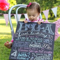 This is the perfect photo shoot accessory, birthday prop, or present for the birthday boy or girl! Each one is hand-drawn, completely unique, with NO digital design aid!The poster is made from a stiff, lightweight board. Unlike chalk, which is messy and can rub off during use, they use metallic ink, which is permanent.