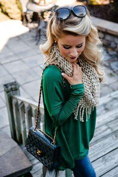 I love the green!