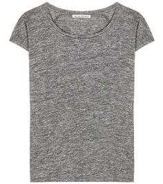 Acne Studios - Narda linen T-shirt - Acne Studios can always be relied on 31d567846ef