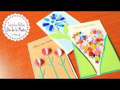 Cartas / Tarjetas Fáciles, Rápidas y Bonitas | Regalo Día de las Madres - YouTube