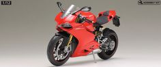 [Tamiya] Ducati 1199 Panigale S (Item #14129)