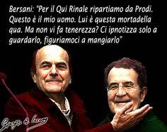 Bersani: per il Quirinale ho pronto uno sfilatino caldo con mortadella...
