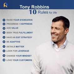 Your of life shapes you more than anything else. Adapt these by and a powerful Raise Your Standards, Life Rules, Change Your Mindset, Tony Robbins, Lead Generation, You Changed, Philosophy, Love You, Shapes