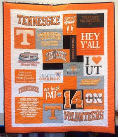 Best T-shirt Quilt of 2016 Tennessee