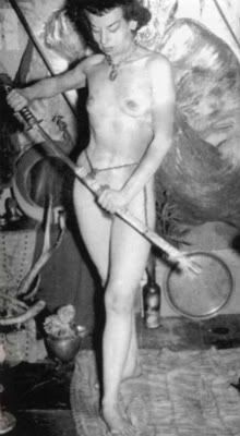 Teen girlfriend bent over naked