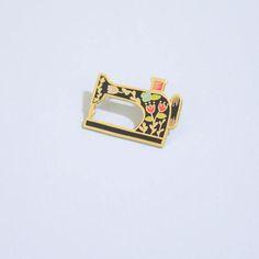 94c2e674c Sewing Machine Enamel Pin | Hard Enamel, Enamel Pin, Lapel Pin, Flair,  Sewing Gifts, Gifts for Sewist, Sewing Machine, Quilter Gifts