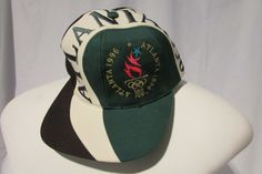 1996 ATLANTA OLYMPICS VINTAGE LOGO SNAPBACK HAT CAP  #Eastport