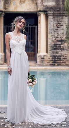 245 best Beach Wedding Dresses images on Pinterest in 2018 ...