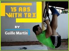15 abs exercices with TRX by Guille Martín - YouTube