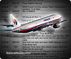 Malaysian government admits altering MH370 pilot transcript, hiding evidence and misleading the public in massive cover-up