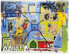 Jean-Michel Basquiat, Untitled, 1981