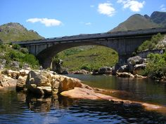 Kleinmond - bridge over the Palmiet river between Bettys Bay and Kleinmond. All About Africa, Out Of Africa, Cape Town Photography, National Botanical Gardens, Provinces Of South Africa, Xhosa, My Land, Places Of Interest, Walkways