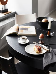 New Cost-Free TOUCH is an image by IKEA Sverige Thoughts On among my really frequent trips to IKEA I found cheaper lacking tables that have been the perfect Ikea Vardagen, Ikea Lack, Ikea Dining Table Hack, Bjursta Table, Ikea Breakfast, Diy Embroidery Designs, Simply Home, Bedroom Table, Kitchen Dining