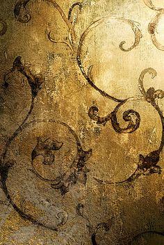 Złota tapeta vintage 50 - Skórkoklejki wklejaj, wyklejaj, zaklejaj
