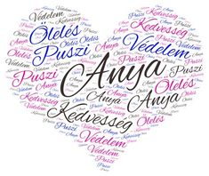 anyák napjára word cloud art created by SFJudit Word Cloud Art, Word Art, Mom And Grandma, Grandma Gifts, Mothers Day Cards, Love Gifts, Creative Cards, Paper Cutting, Kids Learning