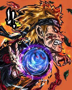 Naruto transforming into kyubi by ozzyoz_da_vyrus Naruto Shippuden Sasuke, Anime Naruto, Naruto Madara, Naruto Fan Art, Manga Anime, Boruto, Shikamaru, Manga Art, Naruto Wallpaper