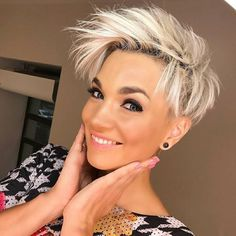 Pixie hairstyles are on our website for you. 20 different Pixie hairstyles are there for you. These pixie hairstyles are Edgy Pixie Hairstyles, Short Shaved Hairstyles, Short Pixie Haircuts, Cute Hairstyles For Short Hair, Short Hair Cuts, Curly Hair Styles, Beautiful Hairstyles, Edgy Haircuts, Ladies Hairstyles