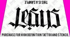 Jesus / Saves Ambigram Tattoo Design  Ambigram Tattoo Designs at WowTattoos.com Davids Manly Stuff | tattoos picture jesus tattoo designs Tattoo Designs, Tattoo Ideas, Jesus Tattoo Design, Stencils, Tattoos, Drawings, Awesome, Sketches, Irezumi