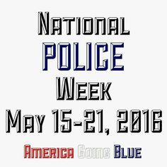 National Police Week 2016
