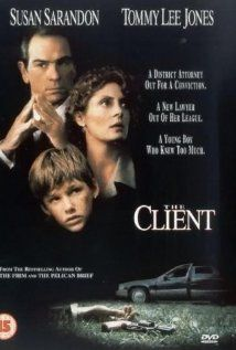 The Client (1994) - directed by Joel Schumacher and starring Tommy Lee Jones and Susan Sarandon.  Portions of the movie filmed in Clinton, MS.