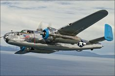 """Old Glory"" B-25 Mitchell by Wingman Photography, via Flickr"